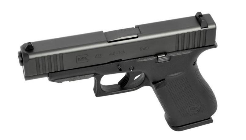 GLOCK 48R/FS, schwarz, 10 Schuss, Marksman Barrel