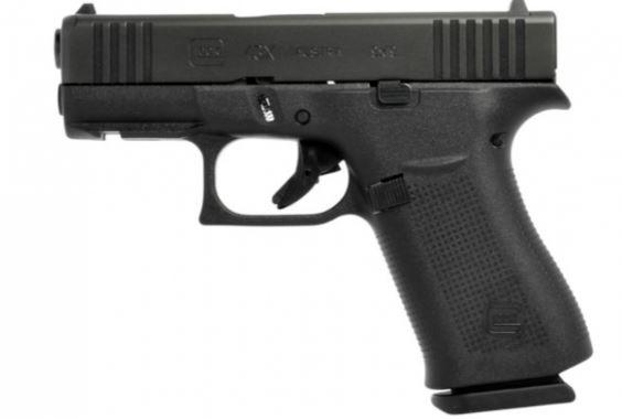 GLOCK 43X R/FS schwarz ,10 Schuss,inkl.Rail