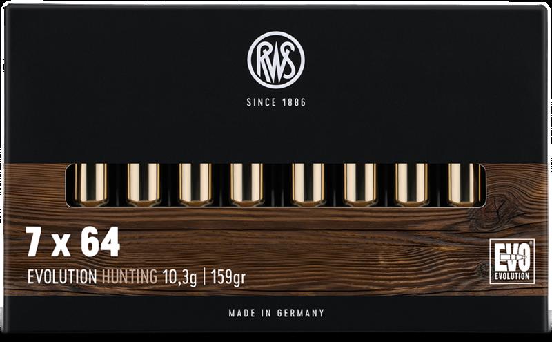 RWS Kal. 7x64  EVOLUTION  10.3g