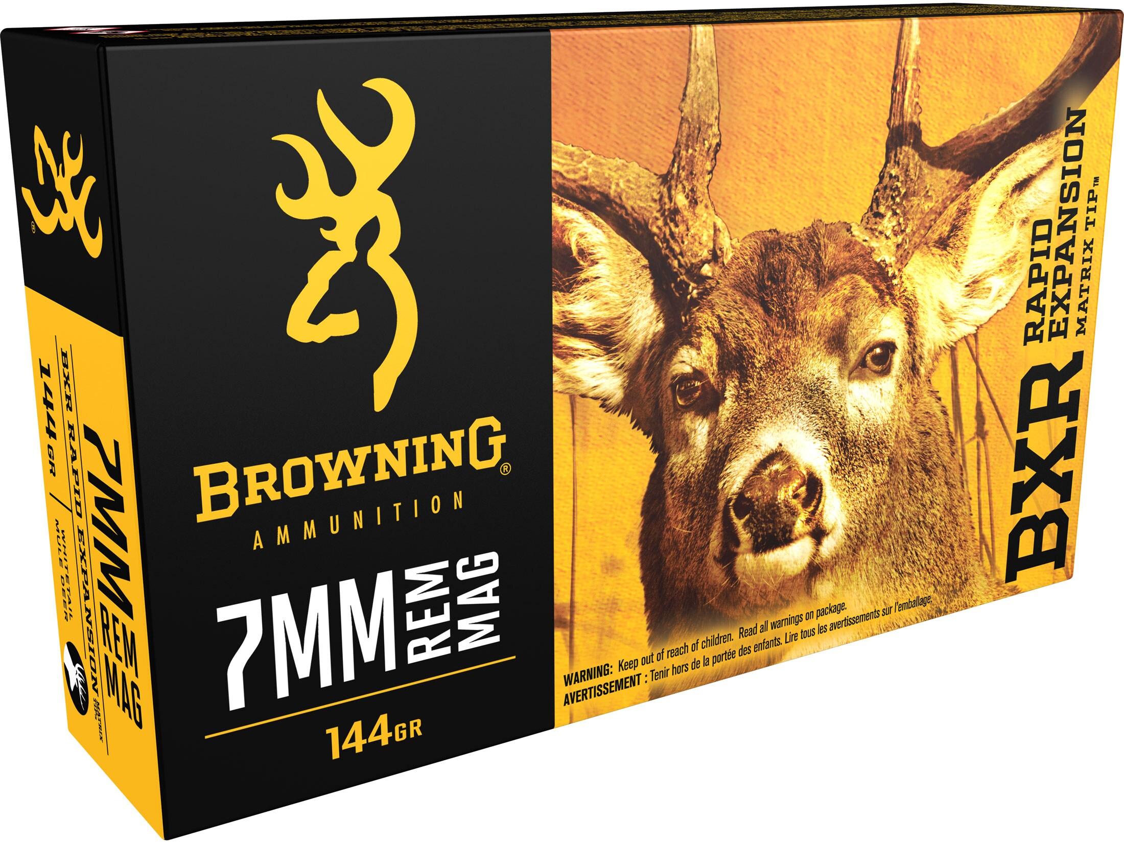 BROWNING Kal. 7mm Rem. Mag.; BXR  144gr./9,33g