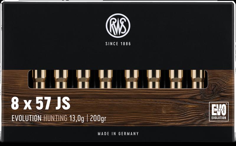RWS Kal. 8x57 JS  EVOLUTION  13,0g