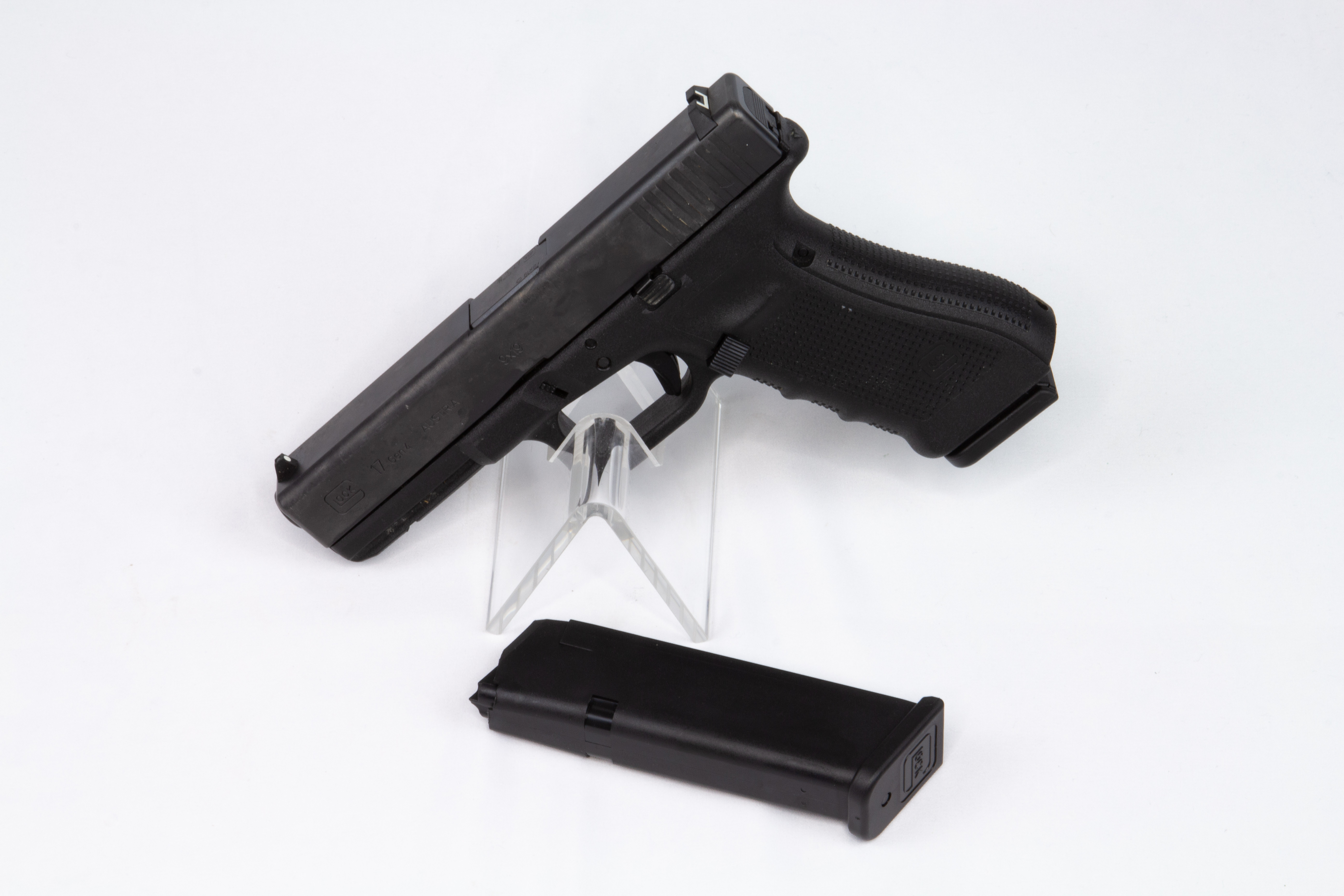 gebr. GLOCK Pistole, Mod. 17 Gen. 4