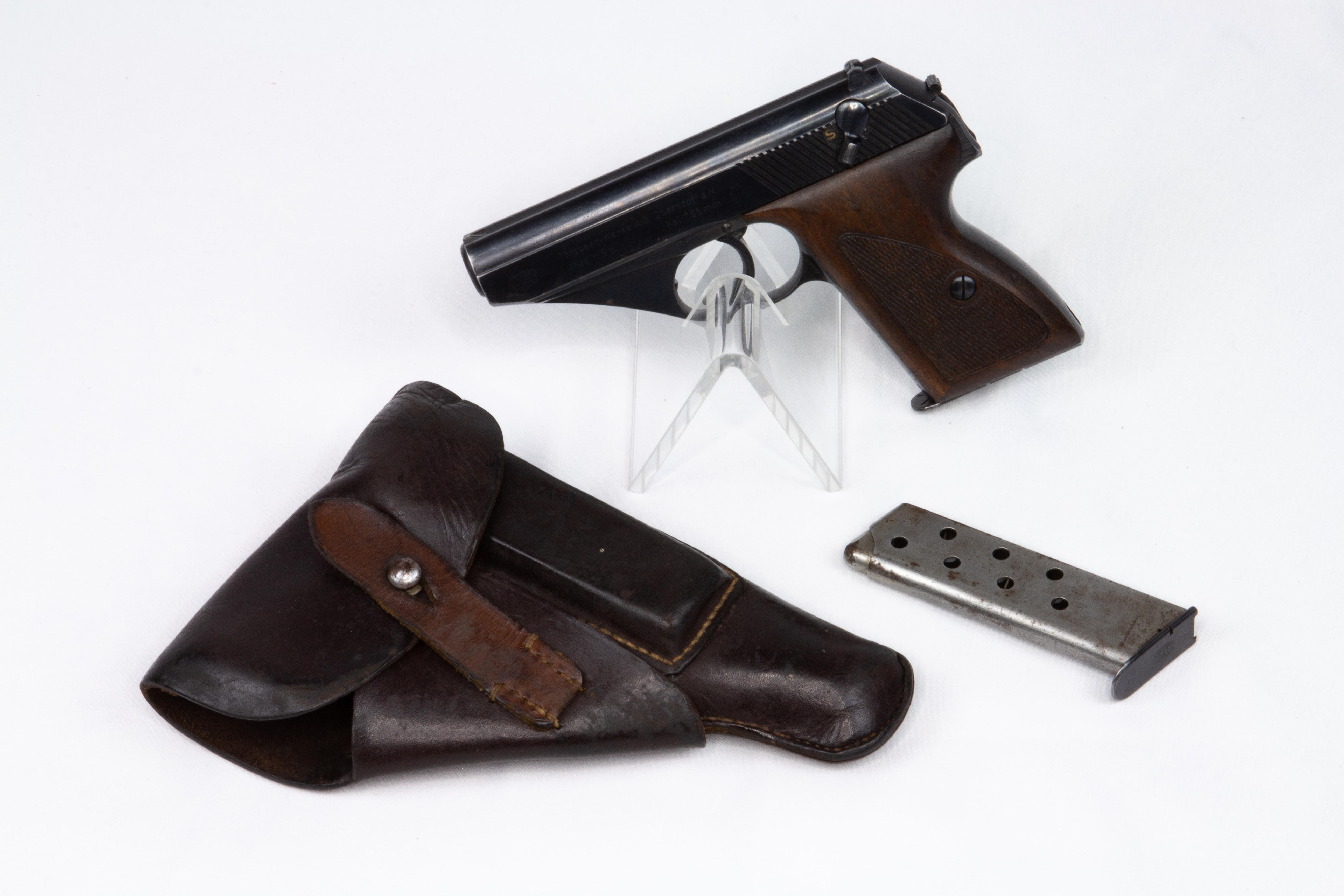 gebr. MAUSER Pistole Mod. HSc