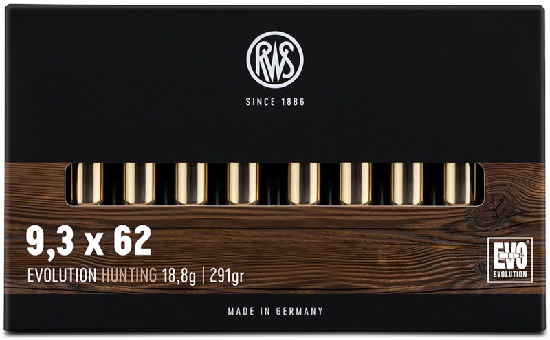 RWS Kal. 9,3x62  EVOLUTION  18,8g