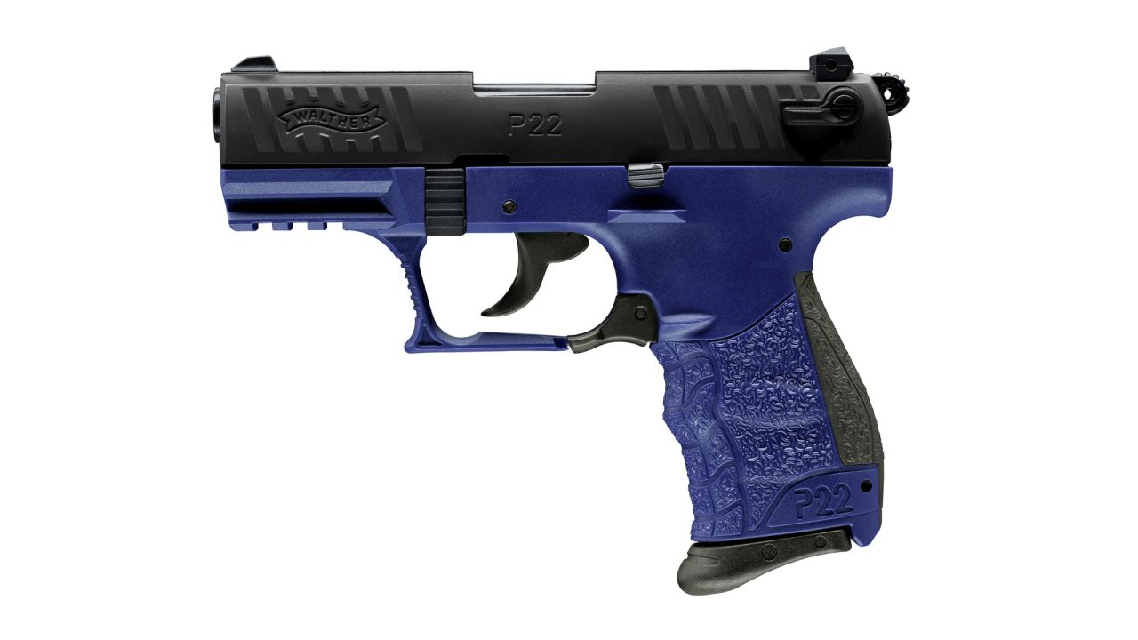 WALTHER Pistole Mod. P22 Q Blue Star
