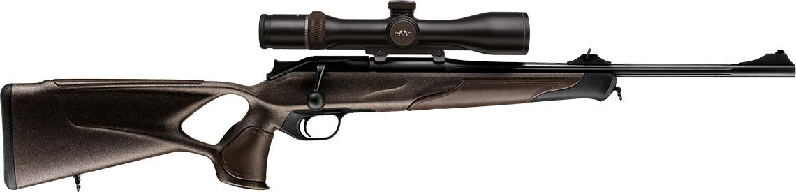BLASER R8 Professional Succes Leder-Braun LL470mm mit Hi-Viz Fluchtvisier und M15x1