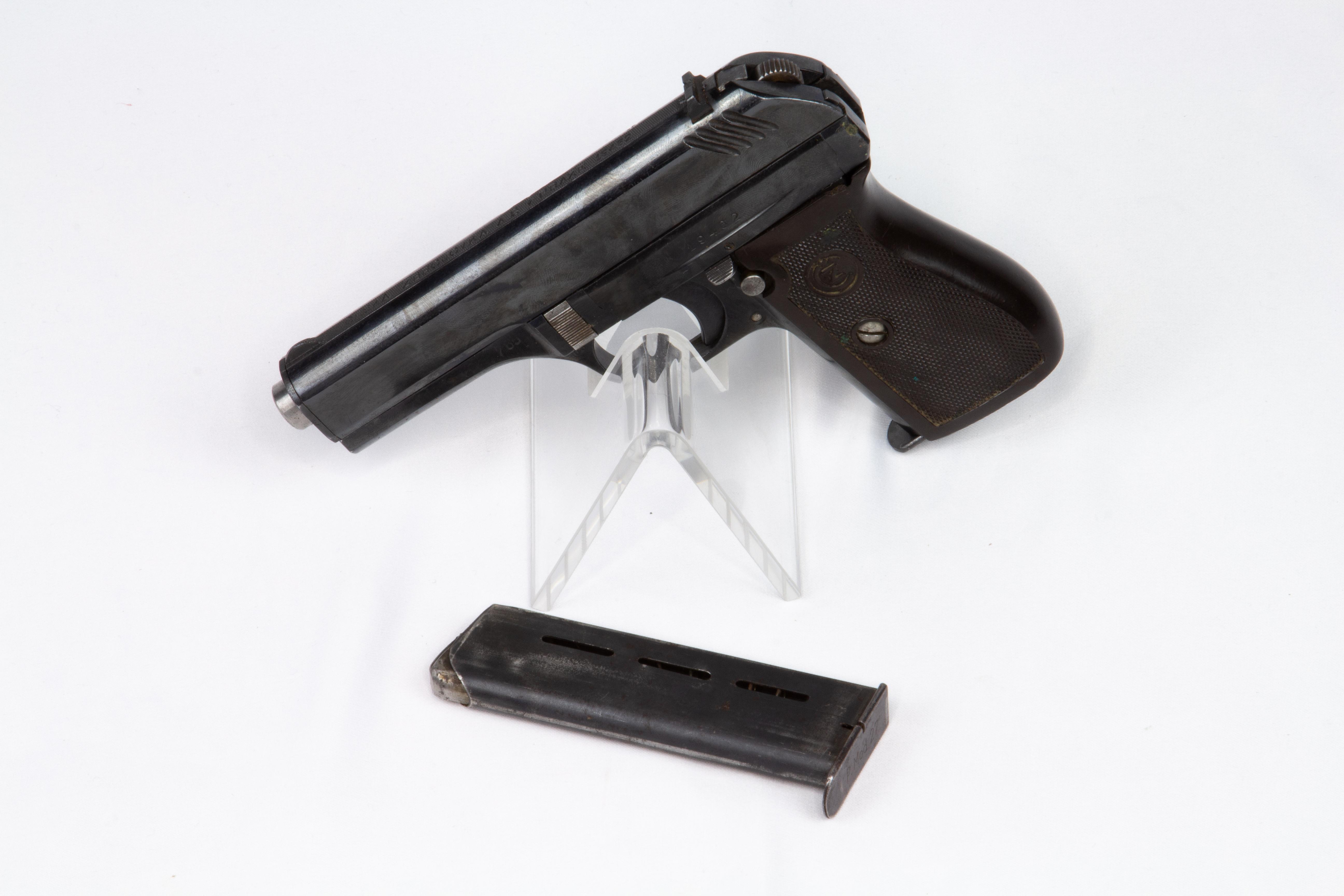 gebr. BRÜNNER Pistole Mod. CZ27