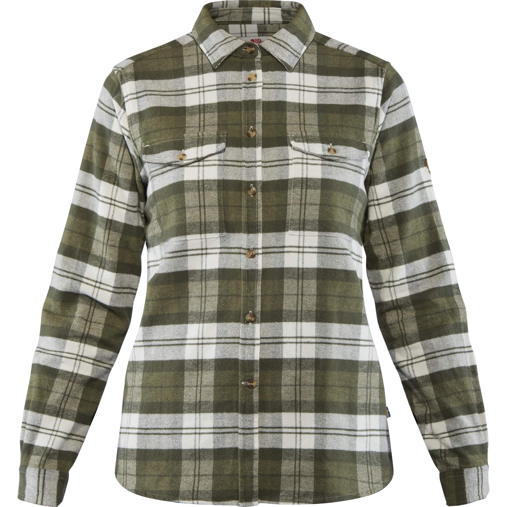 FJÄLL RÄVEN Övik Heavy Flannel Shirt W
