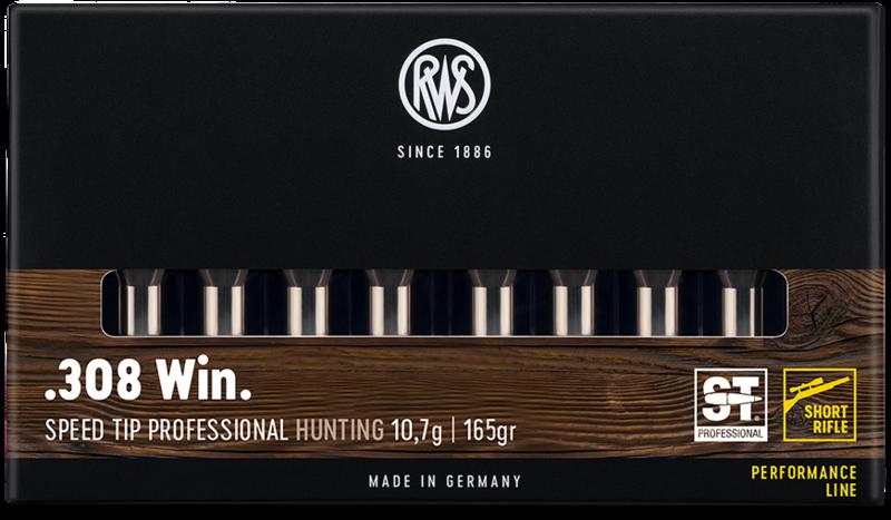 RWS Kal. .308 Win. Short Rifle, Speed Tip Pro 10,7g