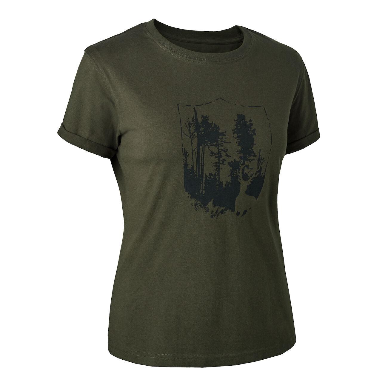 DEERHUNTER Lady T-Shirt mit Schild