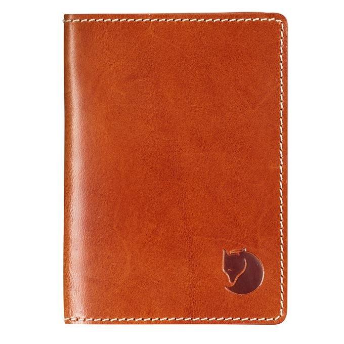 FJÄLL RÄVEN Leather Passport Cover