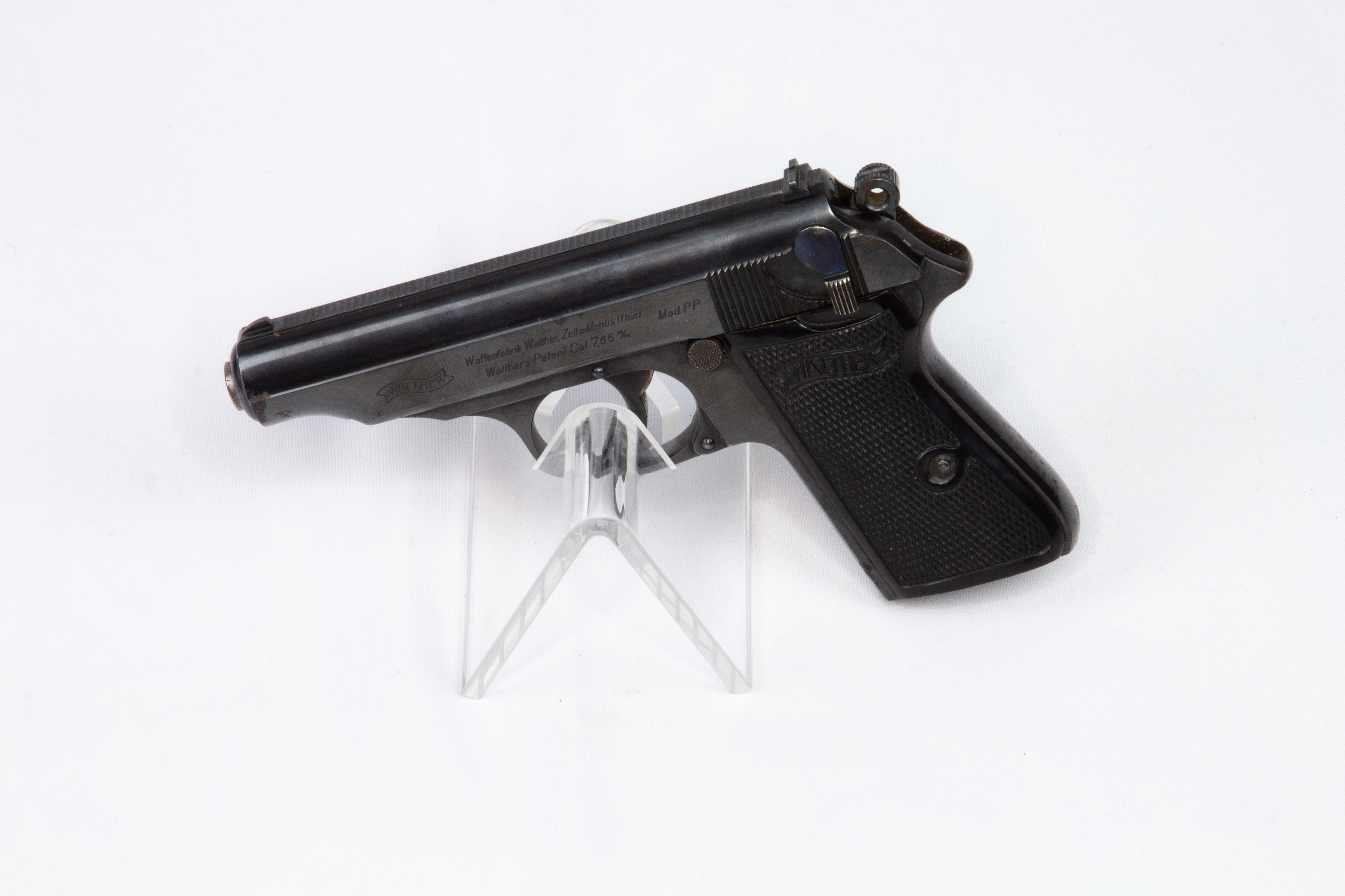 gebr. WALTHER Pistole Mod. PPK Zella-Mehlis
