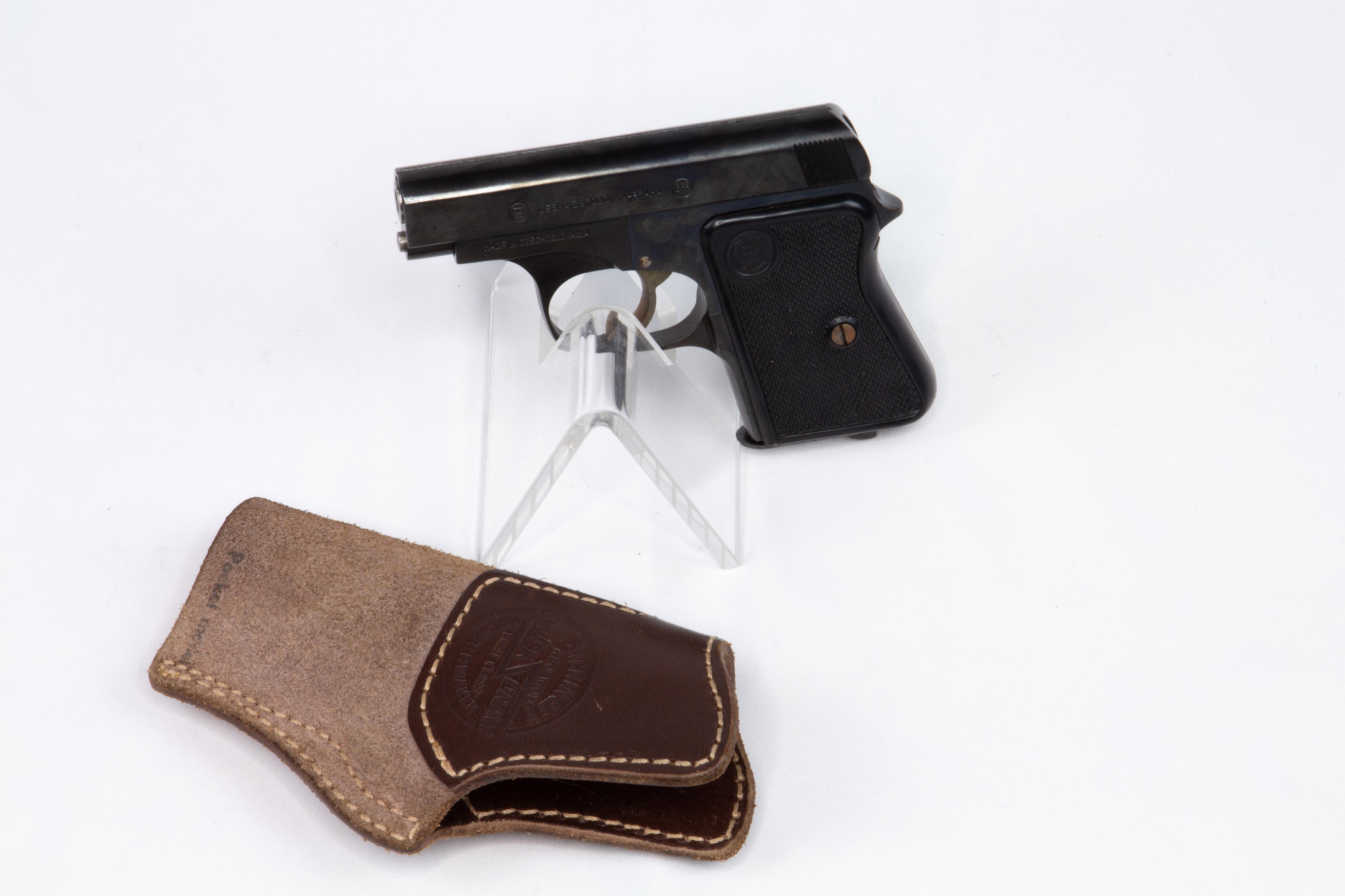 gebr. BRÜNNER CZ Pistole Mod. 36 Duo
