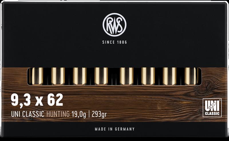 RWS Kal. 9,3x62  UNI Classic  19g