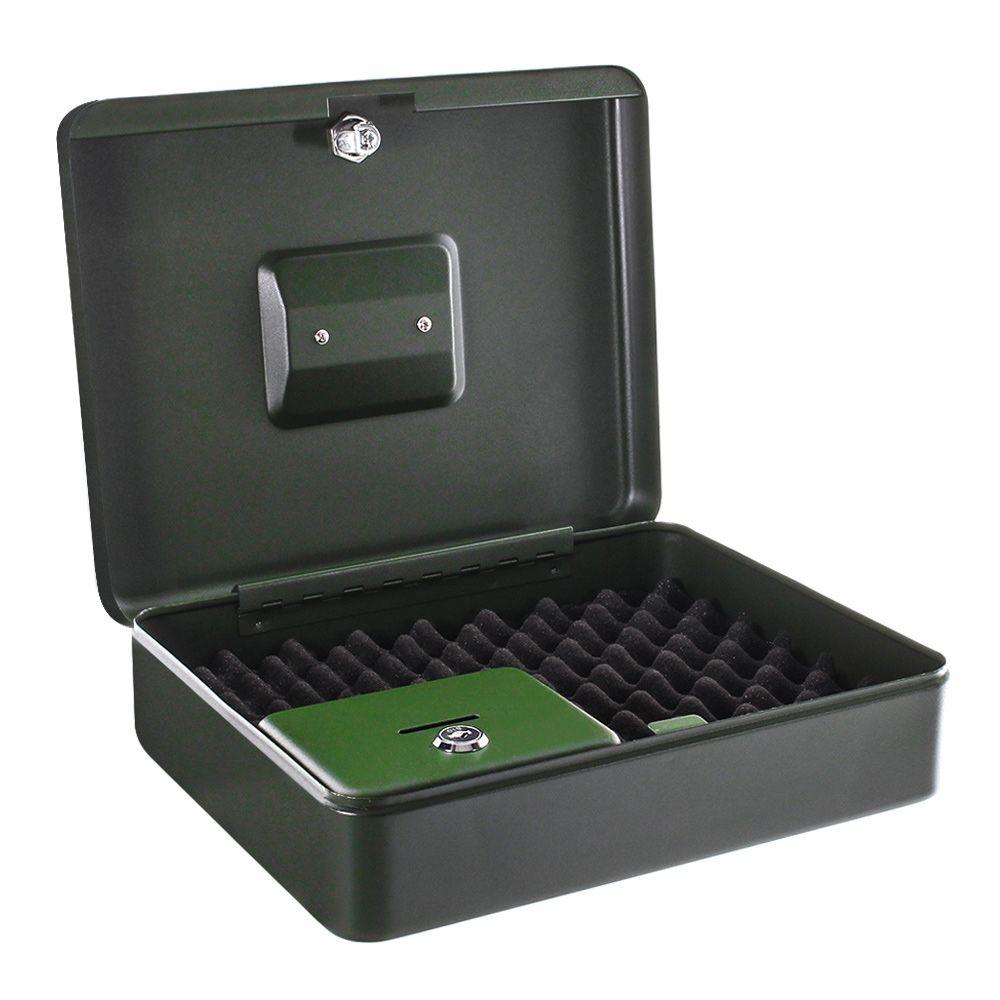 ROTTNER Gun Box RAL6002 Pistolenkassette