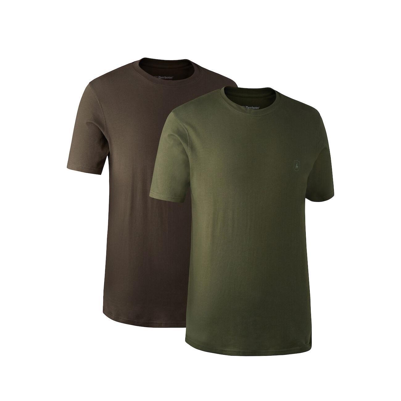 DEERHUNTER T-Shirt 2'er Pack