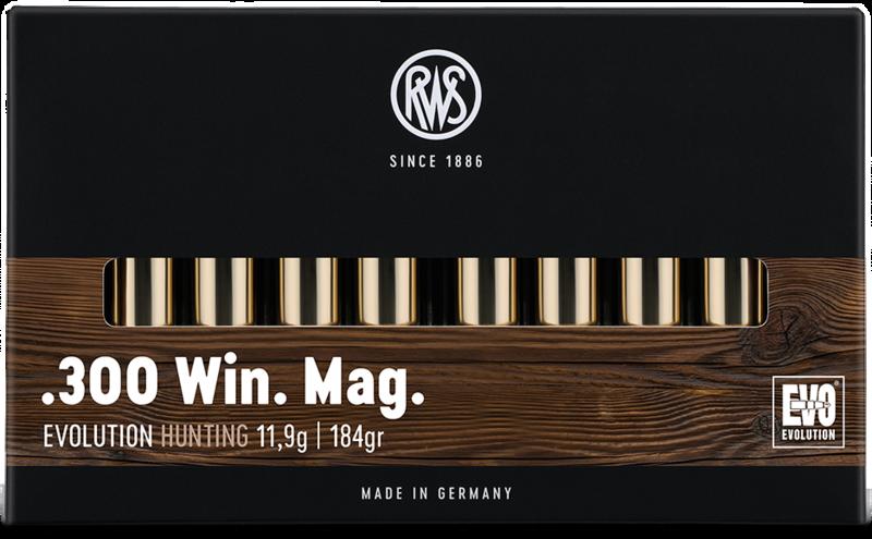 RWS Kal. .300 Win. Mag.  EVOLUTION  11,9g