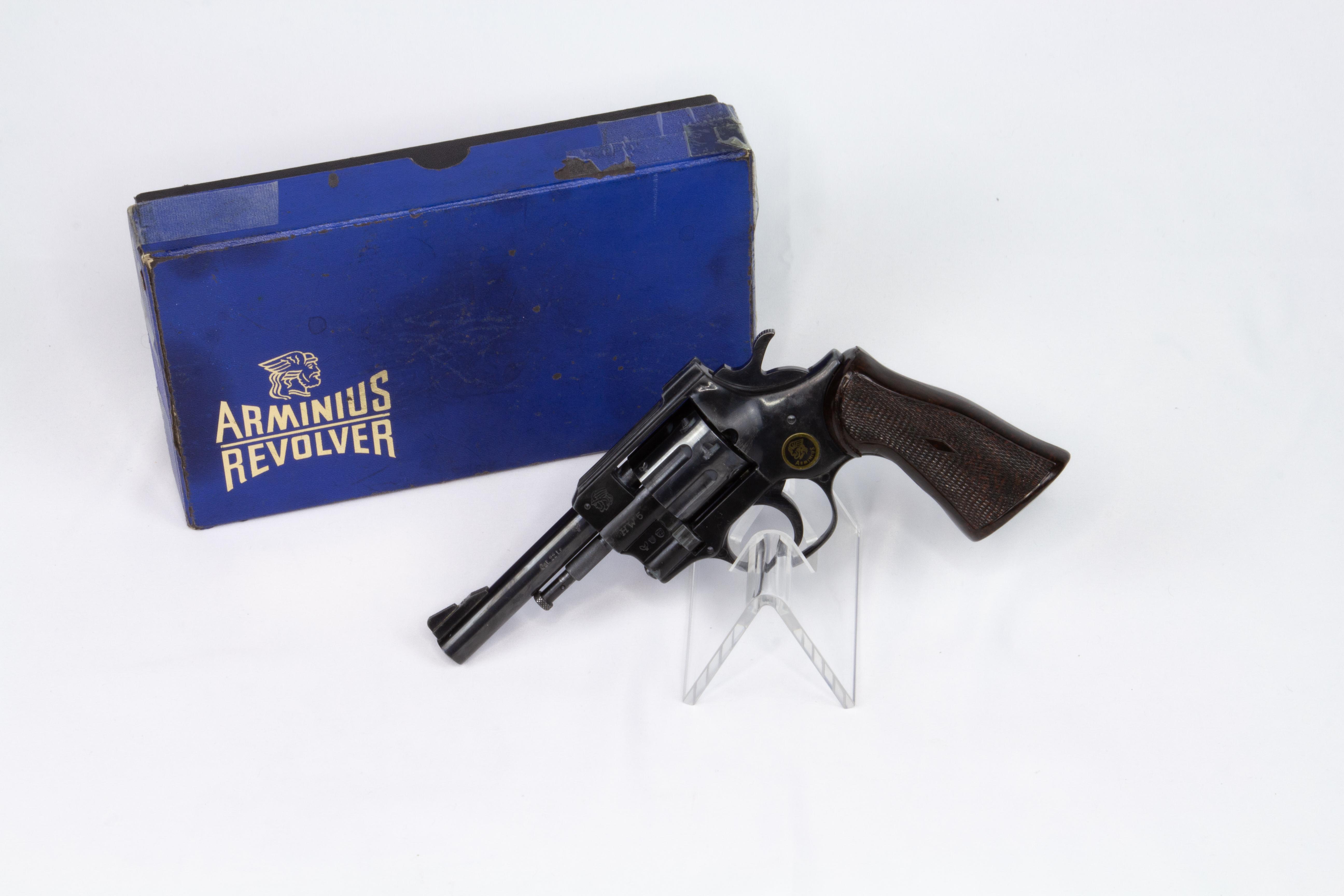 gebr. WEIHRAUCH Arminius Revolver Mod. HW5