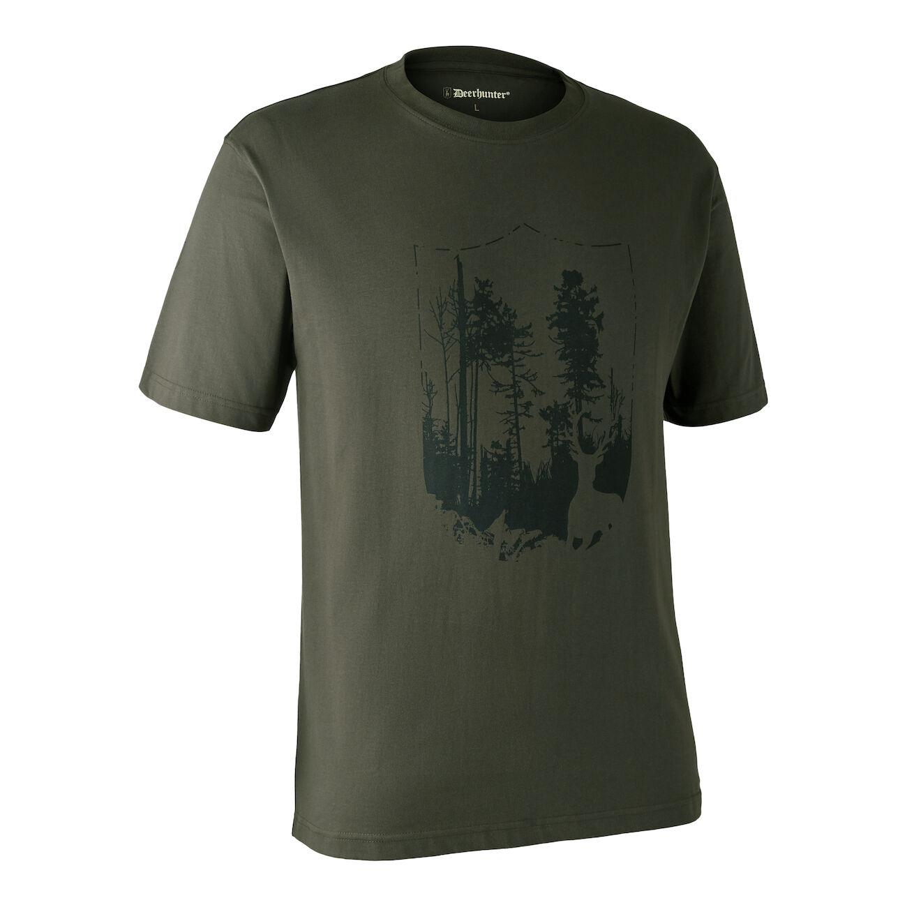 DEERHUNTER T-Shirt mit Schild