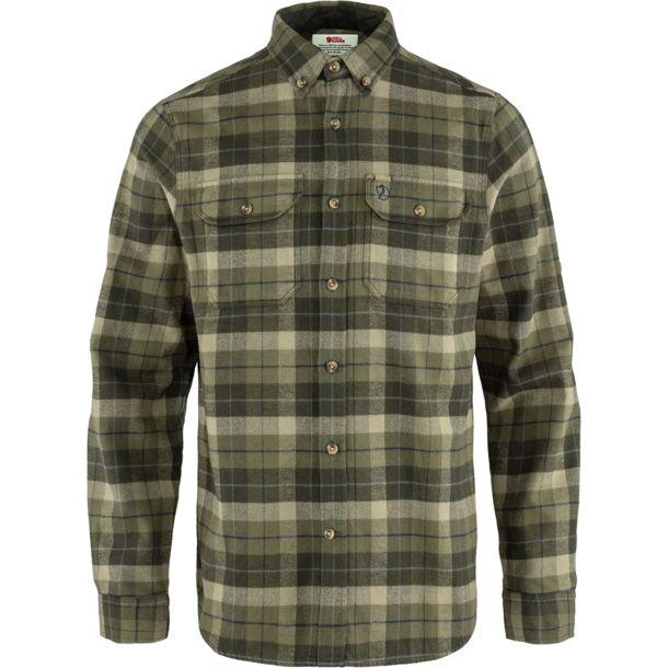 FJÄLL RÄVEN Singi Heavy Flannel Shirt M