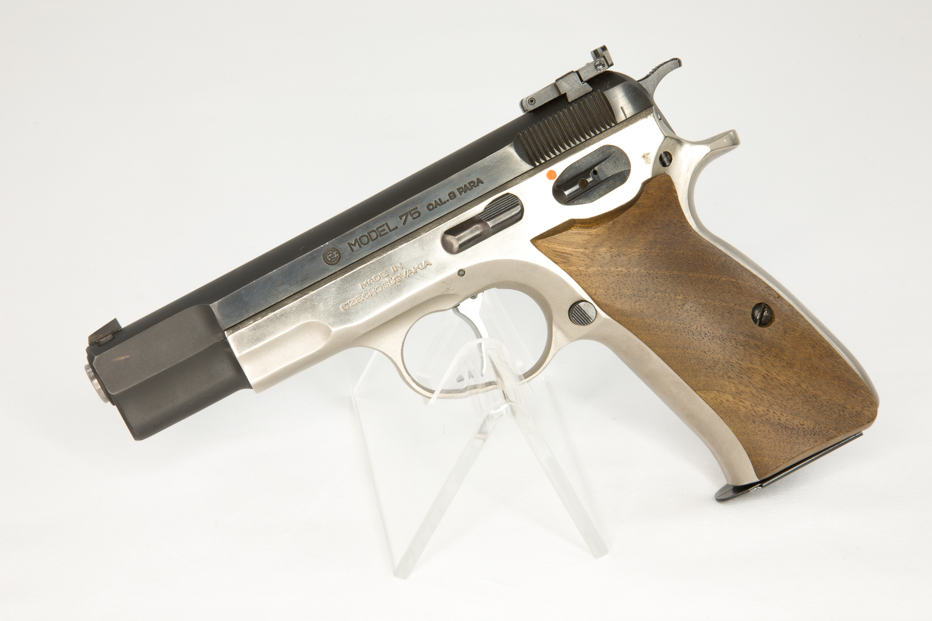 gebr. BRÜNNER Pistole, Mod. CZ 75