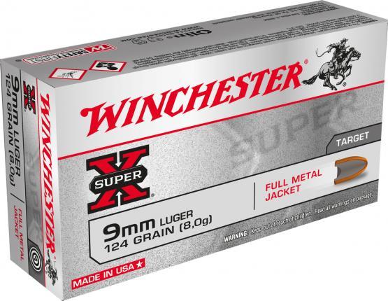 WINCHESTER Kal. 9 mm Luger Super X