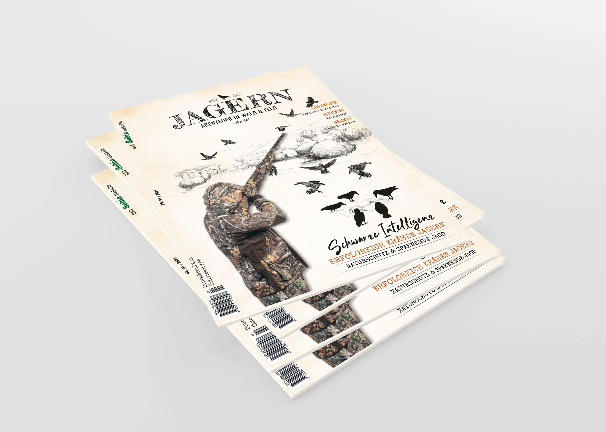 JAGERN - Jahresabo (4 Ausgaben)