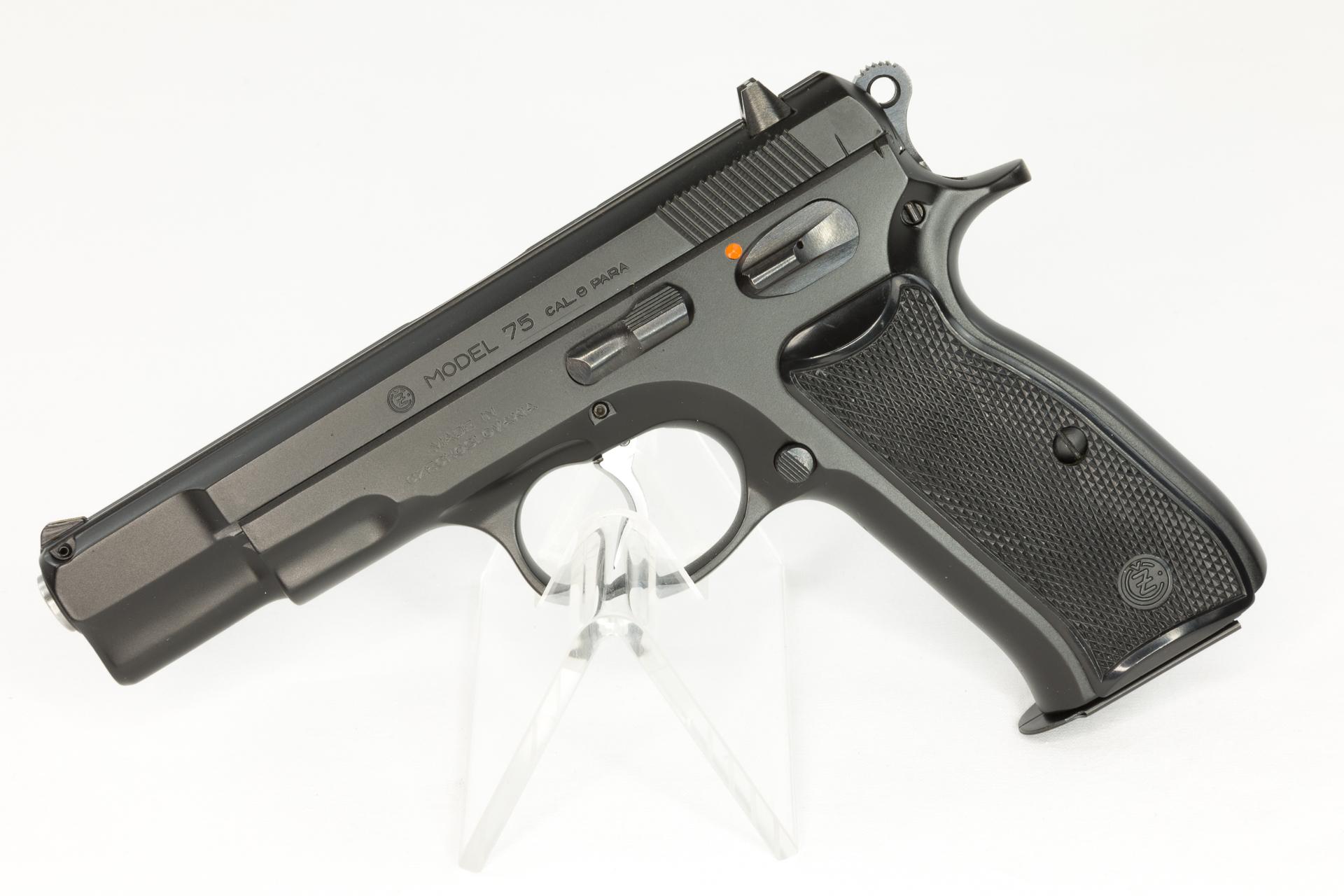 gebr. CZ BRÜNNER  Pistole, Mod. CZ 75