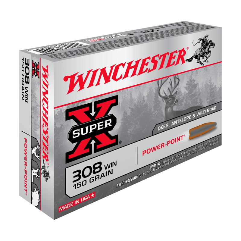 WINCHESTER Kal. 308 Win., 150gr./9,72g  PP