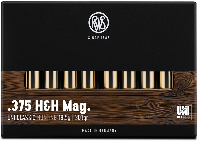 RWS Kal. .375 H&H Mag  UNI Classic 19,5g